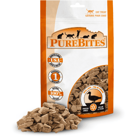 Pure Bites Cat Treats Duck, Cat Treats, PureBites - PetMax