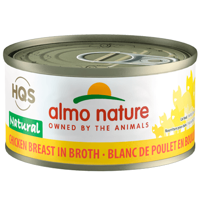 Almo Nature Natural Chicken Breast  Canned Cat Food - PetMax