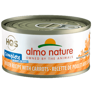 Almo Nature Complete Chicken With Carrots  Canned Cat Food - PetMax