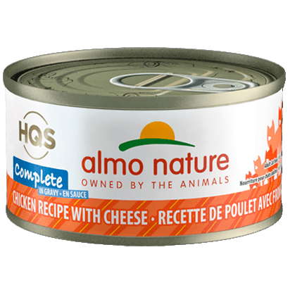 Almo Nature Complete Chicken With Cheese  Canned Cat Food - PetMax