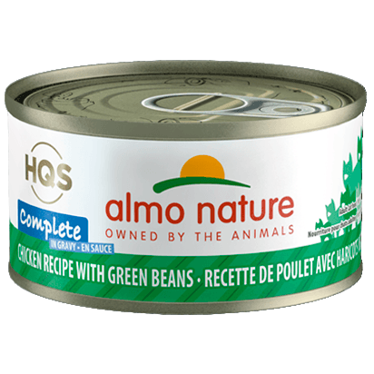 Almo Nature Complete Chicken With Green Bean  Canned Cat Food - PetMax