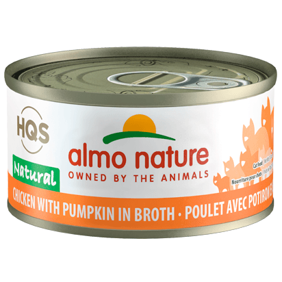 Almo Nature Natural Chicken With Pumpkin  Canned Cat Food - PetMax