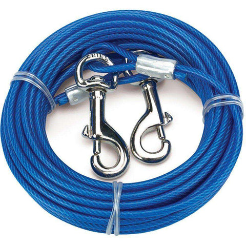 Tie Out Cable For Small/Medium Dogs, Tie Outs, Burgham Sales Ltd. - PetMax Canada