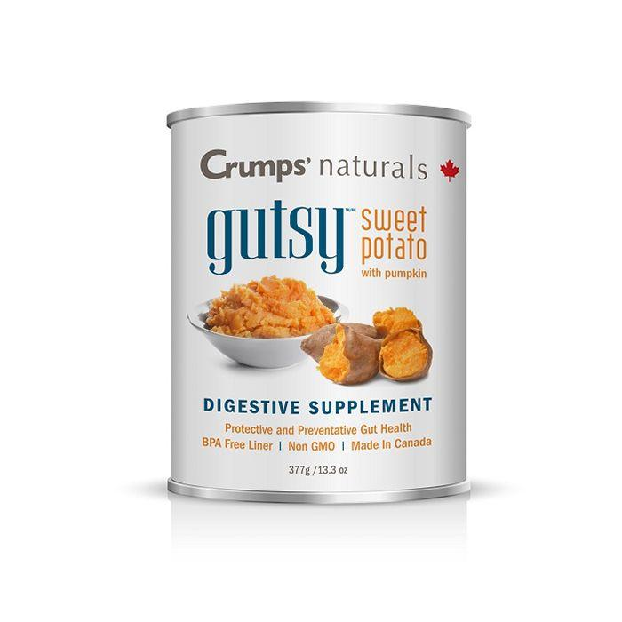 Crumps Naturals Gutsy Sweet Potato Digestive Supplement  Canned Dog Food - PetMax