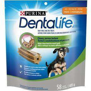 Purina Dentalife Mini Daily Oral Care Dog Treats  Dog Treats - PetMax