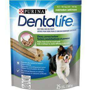 Purina Dentalife Small/Medium Daily Oral Care Dog Treats  Dog Treats - PetMax
