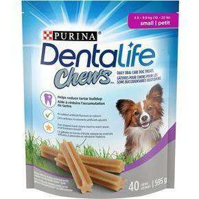 Purina Dentalife Oral Care Dental Chews Small - 595g Dog Treats - PetMax