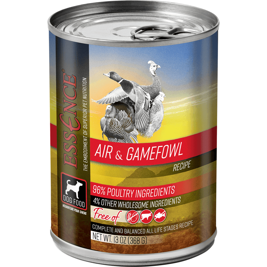 Essence Canned Dog Food Air & Gamefowl | Canned Dog Food -  pet-max.myshopify.com