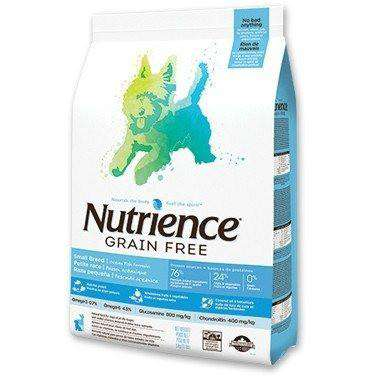 Nutrience Grain Free Dog Food Small Breed Oceanfish