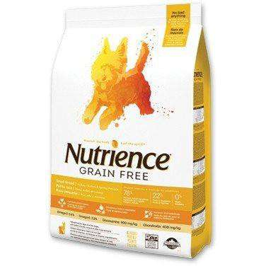 Nutrience Grain Free Small Breed Dog Food Turkey, Chicken & Herring