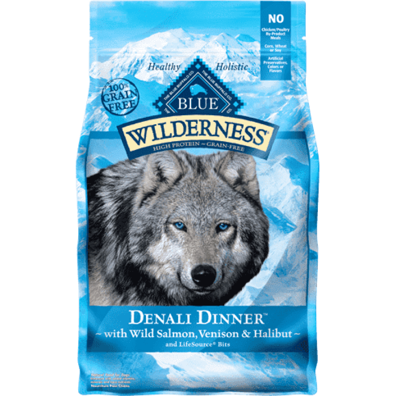 Blue Buffalo Wilderness Dog Food Denali  Dog Food - PetMax