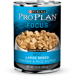 Pro Plan Canned Dog Food Focus Adult Large Breed Chicken