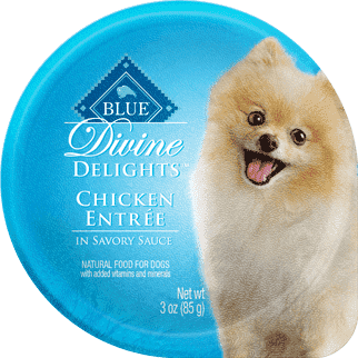 Blue Devine Delights Small Breed Chicken Formula, Canned Dog Food, Blue Buffalo Company - PetMax