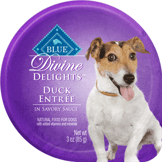 Blue Devine Delights Small Breed Duck Formula, Canned Dog Food, Blue Buffalo Company - PetMax