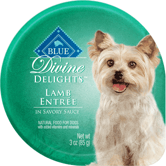 Blue Devine Delights Small Breed Lamb Formula, Canned Dog Food, Blue Buffalo Company - PetMax