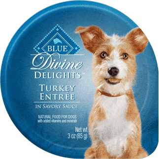 Blue Devine Delights Small Breed Turkey Formula, Canned Dog Food, Blue Buffalo Company - PetMax