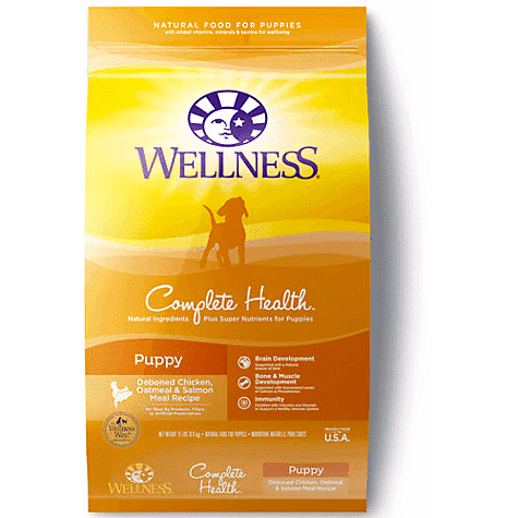 Wellness Puppy Food Chicken Dog Food [variant_title] [option1] - PetMax.ca