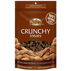 Nutro Crunchy Treat With Real Peanut Butter, Dog Treats, Nutro Pet Products - PetMax