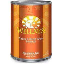 Wellness Canned Dog Food Turkey & Sweet Potato | Canned Dog Food -  pet-max.myshopify.com