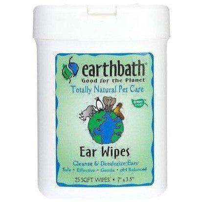 Earthbath Natural Ear Wipes  Health Care - PetMax