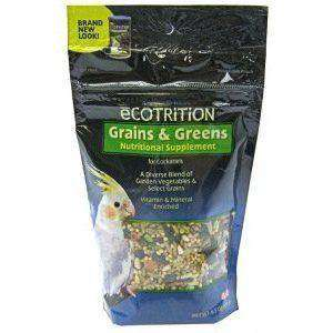 8 In 1 Ecotrition Cockatiel Grains & Greens, Bird Treats, 8 in1 Pet Products, Inc. - PetMax