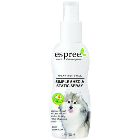 Espree Simple Shed & Static Spray, Dog Grooming Products, Espree - PetMax