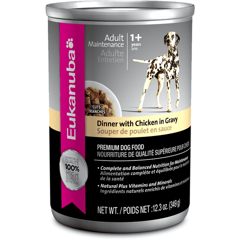 Eukanuba Canned Dog Food Chicken In Gravy
