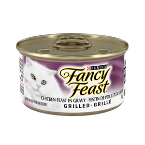 Fancy Feast Grilled Chicken Feast  Canned Cat Food - PetMax