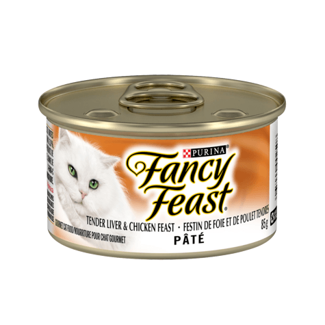 Fancy Feast Liver & Chicken  Canned Cat Food - PetMax
