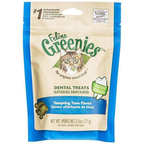 Greenies Feline Tempting Tuna Flavour, Cat Treats, Greenies - PetMax Canada