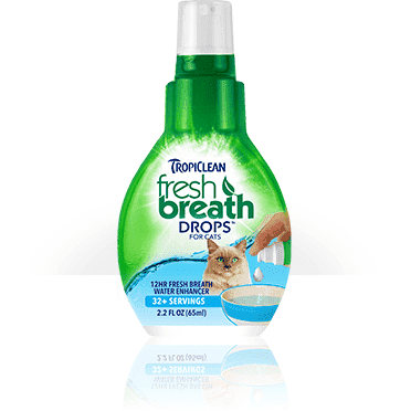 Tropiclean Fresh Breath Drops For Cats, Cat Health Care, TropiClean Pet Products - PetMax Canada