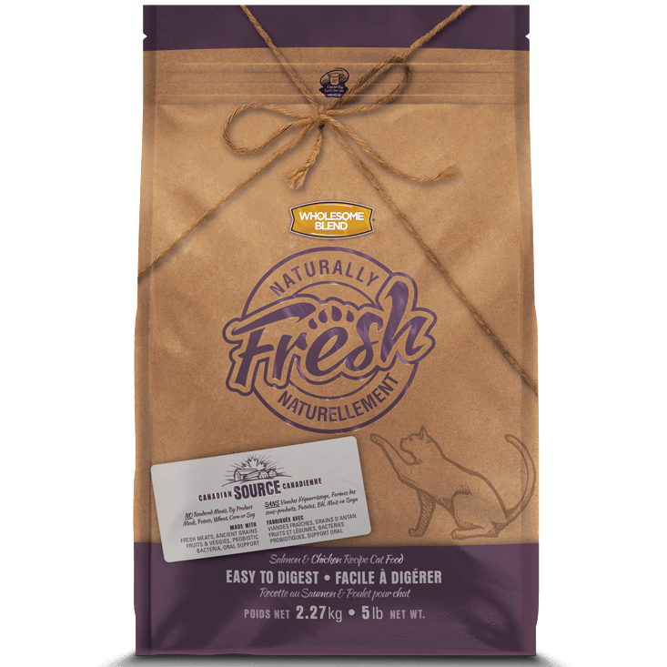 Wholesome Blend Fresh Cat Food Salmon & Chicken | Dry Cat Food -  pet-max.myshopify.com