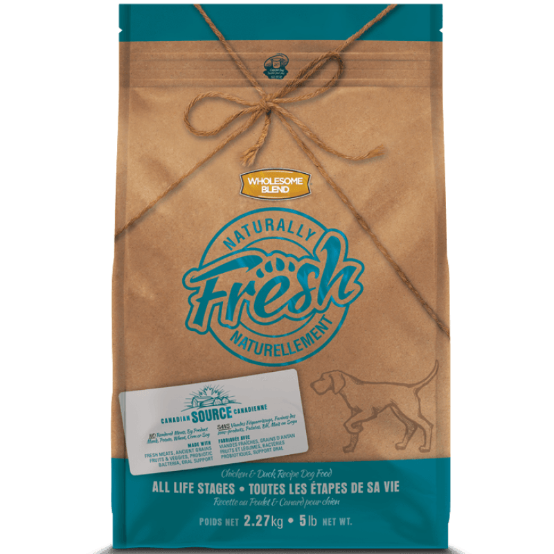 Wholesome Blend Fresh Dog Food All Life Stages Chicken & Duck  Dog Food - PetMax