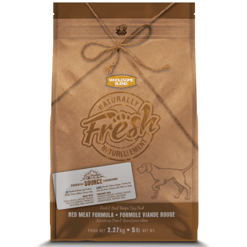 Wholesome Blend Fresh Dog Food Red Meat Pork & Beef  Dog Food - PetMax