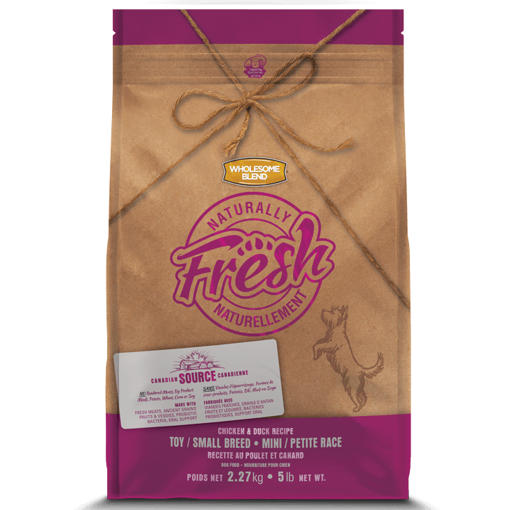 Wholesome Blend Fresh Dog Food Small Breed Chicken & Duck | Dog Food -  pet-max.myshopify.com