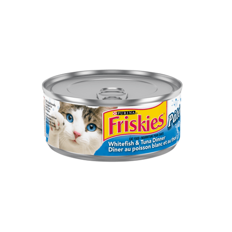 Friskies Canned Pâté Whitefish And Tuna | Canned Cat Food -  pet-max.myshopify.com