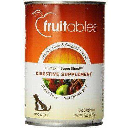 Fruitables Digestive Supplement Pumpkin  Canned Dog Food - PetMax