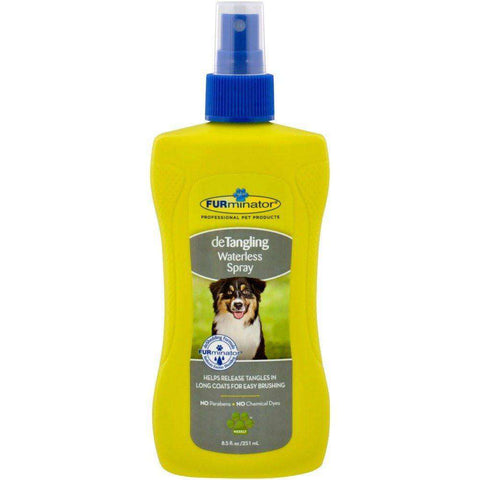Furminator Detangle Waterless Spray For Dogs, Grooming, Furminator Inc. - PetMax