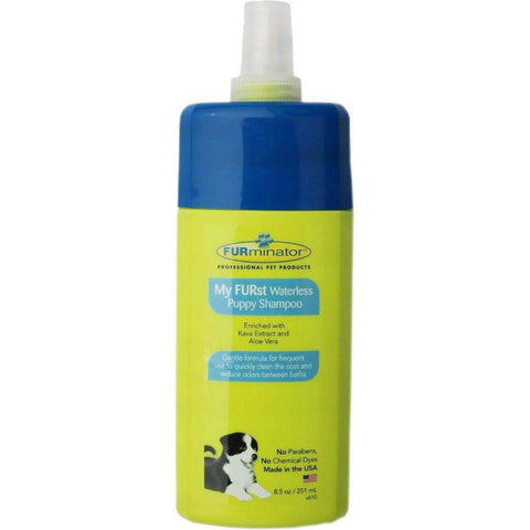 Furminator My Furst Waterless Shampoo For Puppies, Grooming, Furminator Inc. - PetMax