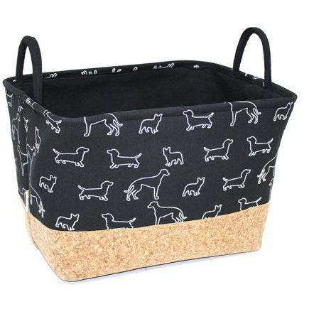 Be One Breed Goodies Basket Black Doggies, Home Decor, Be One Breed - PetMax Canada