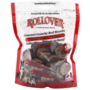 Rollover Crunchies Beef  Dog Treats - PetMax