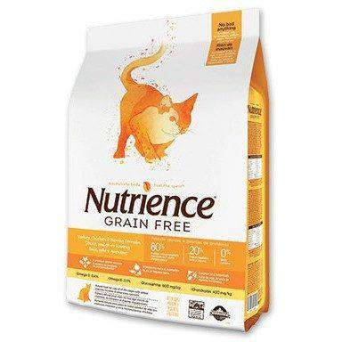 Nutrience Grain Free Cat Food Turkey, Chicken & Herring