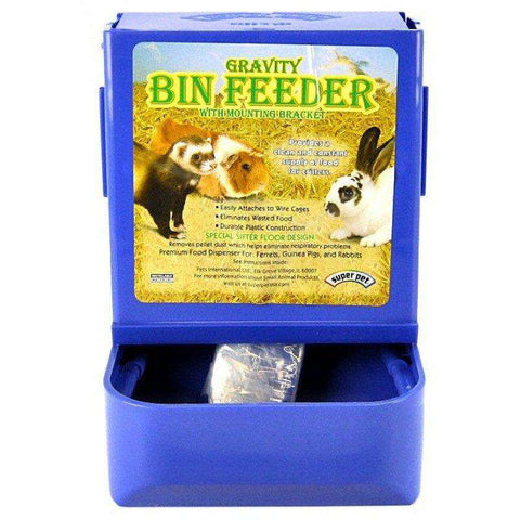 Gravity Bin Feeder For Small Animal