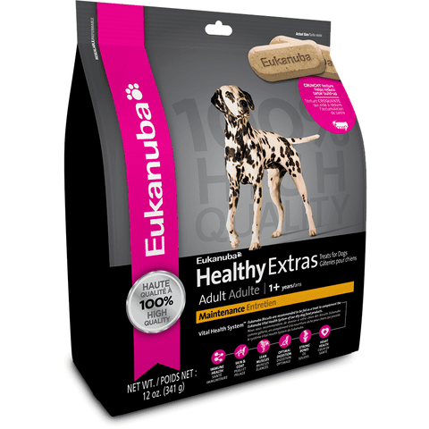 Eukanuba Biscuits Adult Maintenance, Dog Treats, Proctor and Gamble Inc. - PetMax Canada