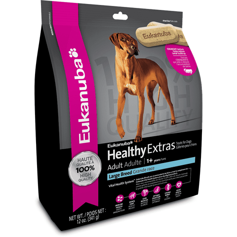 Eukanuba Biscuits Adult Large Breed, Dog Treats, Proctor and Gamble Inc. - PetMax Canada