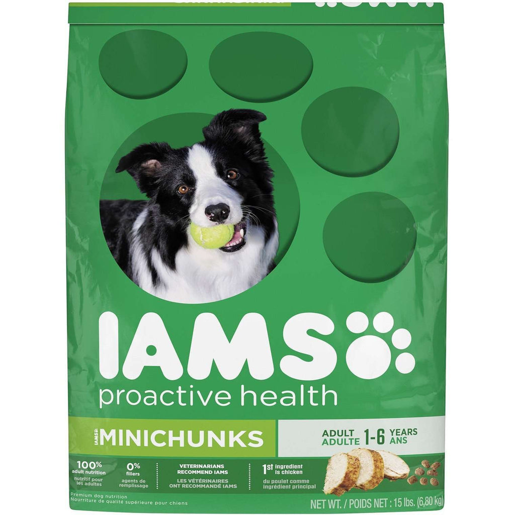 Iams Dog Food Adult Mini Chunks | Dog Food -  pet-max.myshopify.com