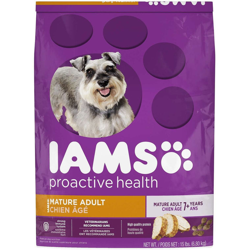 Iams Dog Food Mature Adult Dog Food [variant_title] [option1] - PetMax.ca