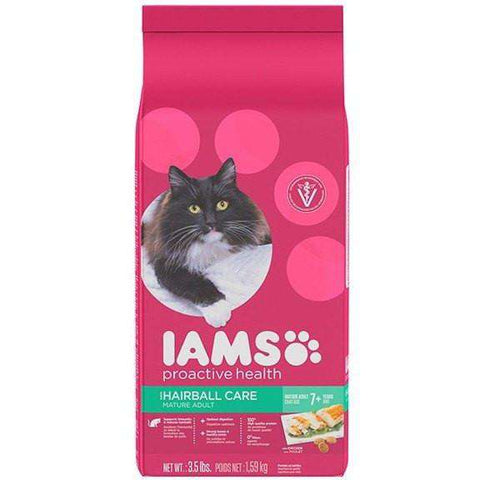 Iams Cat Food Active Maturity Hairball Care