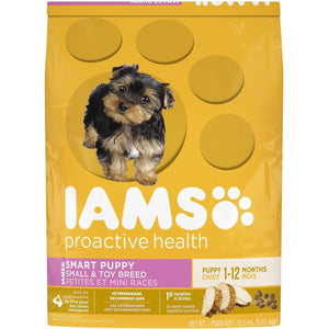Iams Puppy Food Small & Toy Breed  Dog Food - PetMax