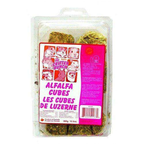 Critter Bunch Alfalfa Cube Treats, Small Animal Food Dry, Burgham Sales Ltd. - PetMax Canada